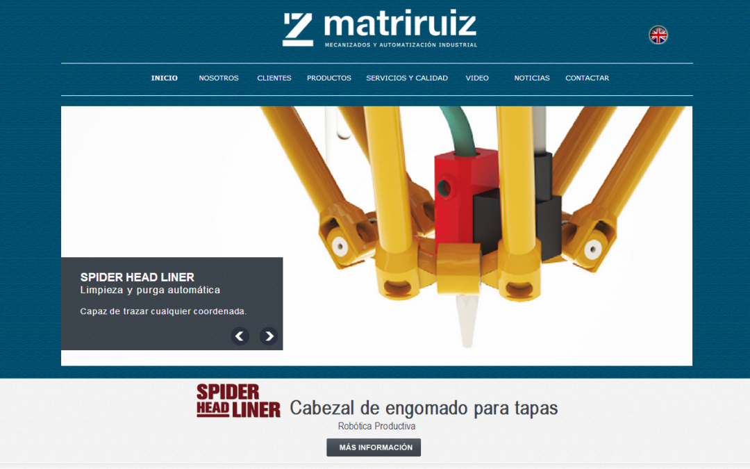 Matriruiz, S.L. update its image.